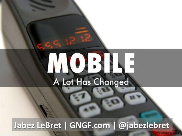 Jabez  LeBret  |  GNGF.com  |  @jabezlebret