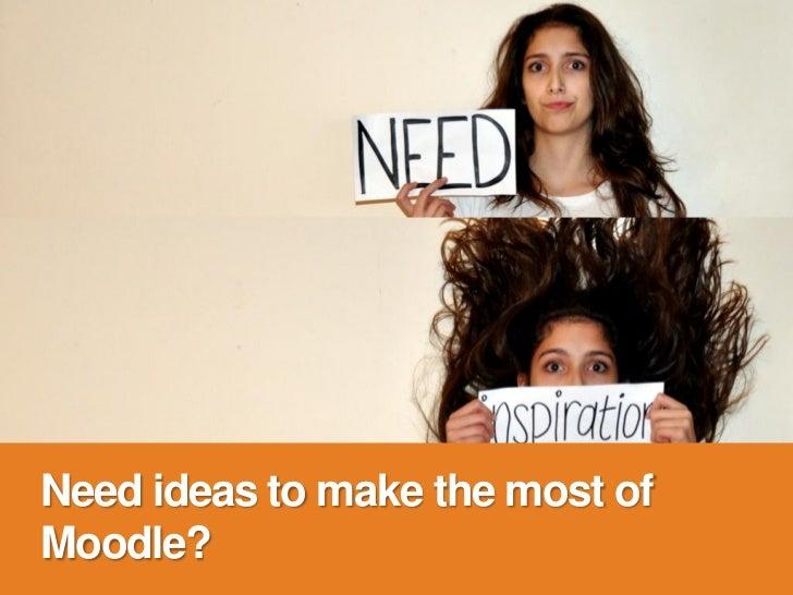 Best Ways of Using Moodle Slide 3
