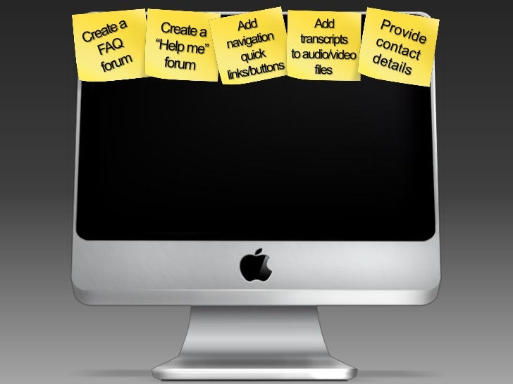 To learn how to create the activities listed, visit the videos' section on e-blahblah.com