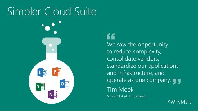 Chemical Company Switches to Office 365, Simplifies IT Slide 3