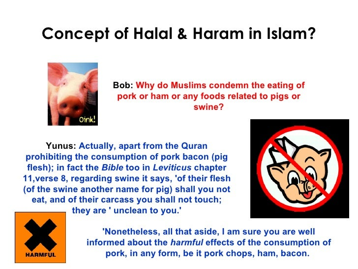 Why Muslim Only Eat Halal Food