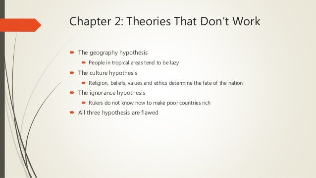 why nations fail chapter 6 summary