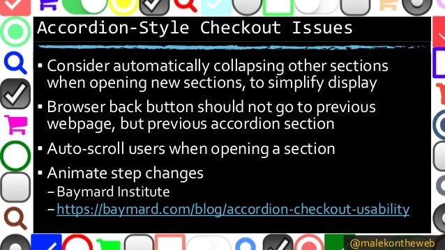 @malekontheweb Accordion-Style Checkout Issues ▪ Consider automatically collapsing other sections when opening new section...