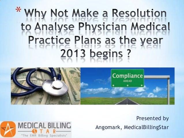 *                   Presented by    Angomark, MedicalBillingStar