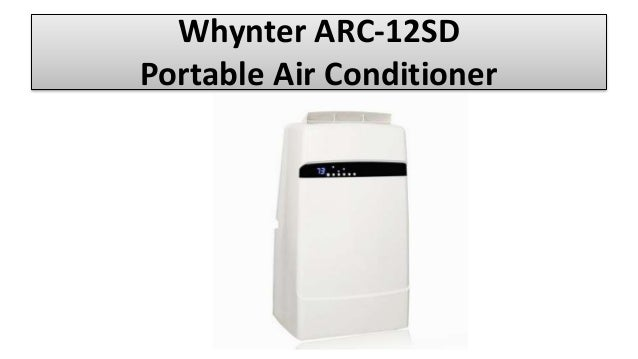 Whynter ARC-12SD Portable Air Conditioner