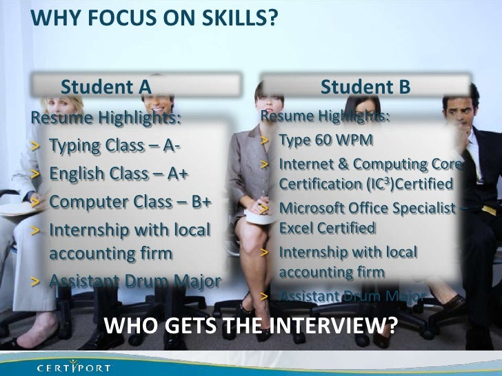 Why Offer Certifications In Secondary Cte Courses Bpa Nlc 2012