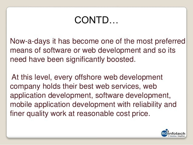why offshore web development had been so popular till now