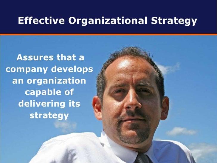 Why Organizational Strategy Matters Slide 2