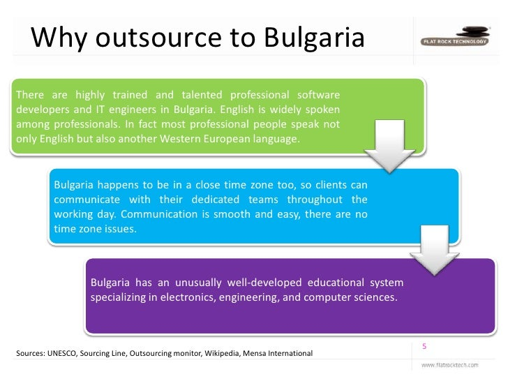 outsourcing wine production to bulgaria essay Challenges in the wine industry print disclaimer: this essay has been it has to mix marketing with its production techniques since it is an industry.