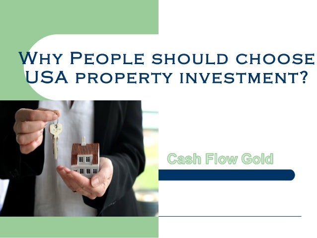 Why People should choose USA property investment?