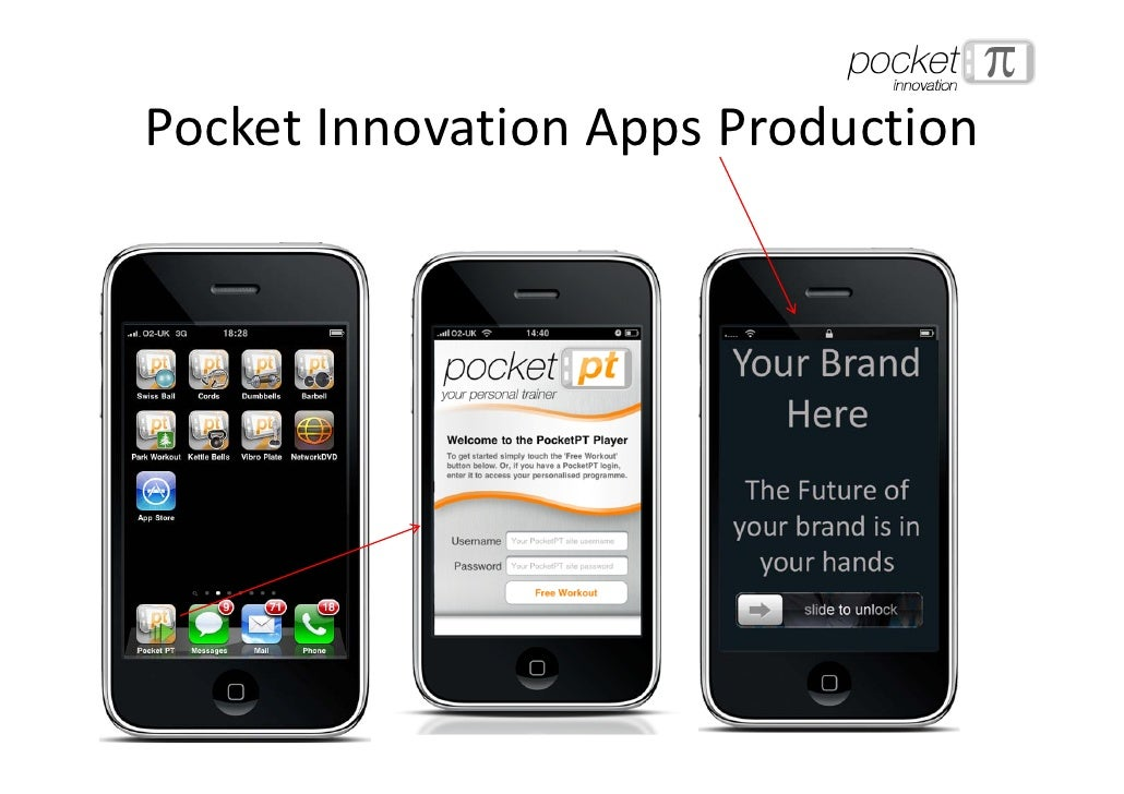 Pocket Innovation Apps Production