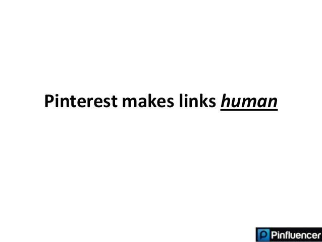 Pinterest makes links human