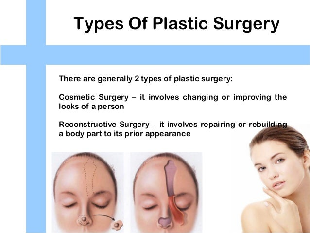 disadvantages of cosmetic surgery When the goal is to make yourself look better in any form, the first option that would strike your mind would perhaps be plastic surgery.