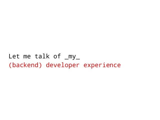 ">>> reasons[""programming""]  • Dexterity programming experience"