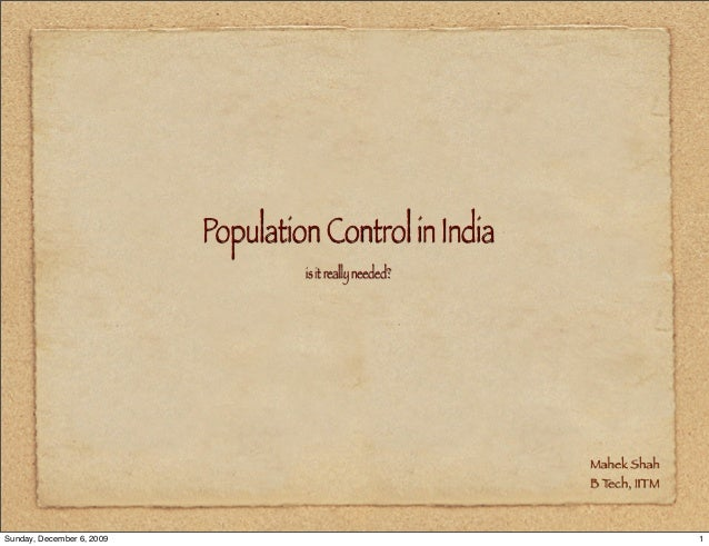 is population control necessary benefits and In an important sense, the nrc report broke the back of the population movement and ushered in a period of uncertainty about the priority that should be given to population policies, as well as about what the content of policy should be.