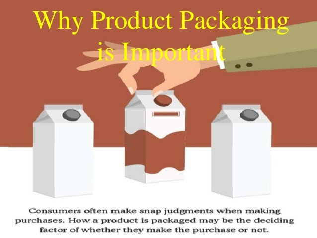 Why Product Packaging is Important