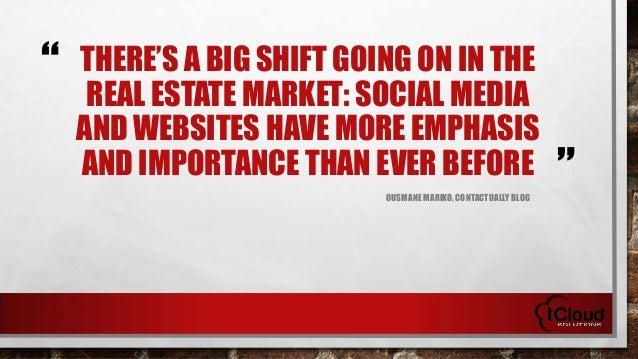 Why Real Estate Needs Social Media Slide 3
