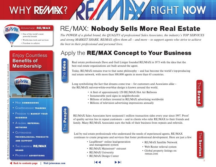 Why Remax