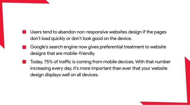 Why responsive web design is the future of website? Slide 3