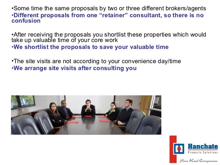 Why \'Retainer\' Property Consultant   Commercial Slide 3