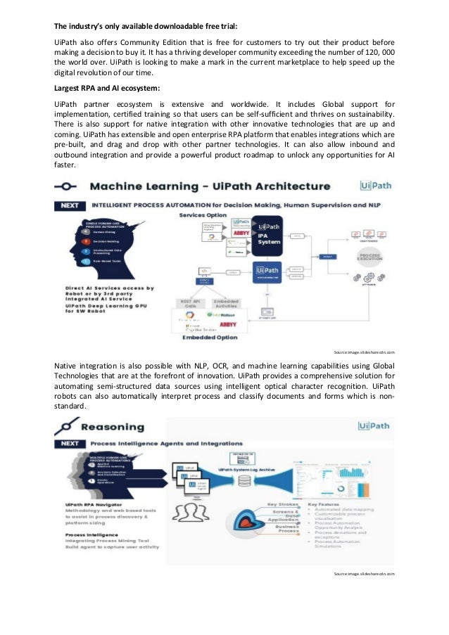 Why RPA UiPath is Unique RPA Software