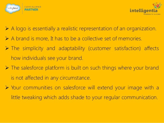  A logo is essentially a realistic representation of an organization.  A brand is more, It has to be a collective set of...