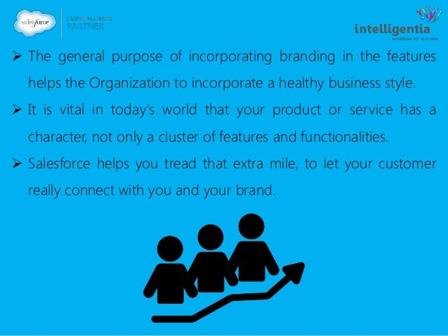  The general purpose of incorporating branding in the features helps the Organization to incorporate a healthy business s...