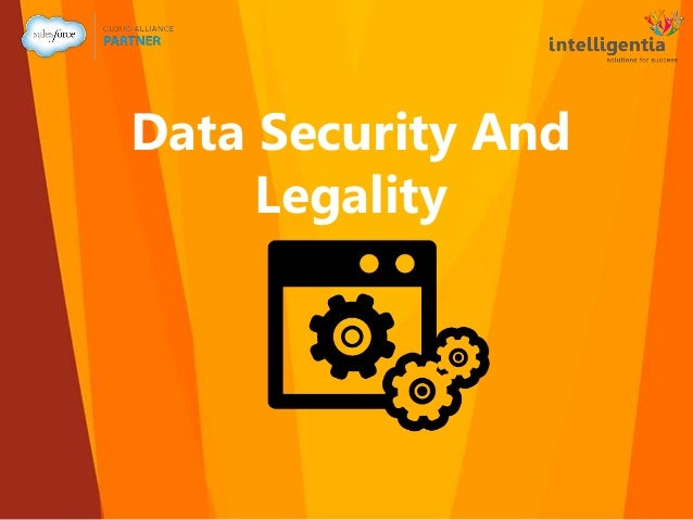 Data Security And Legality