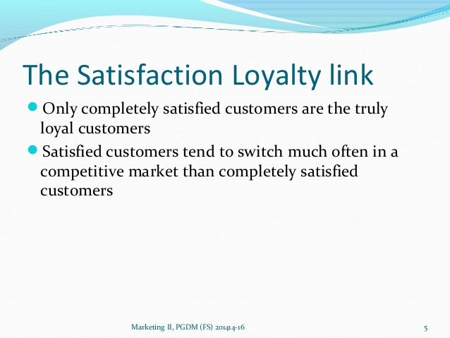 why satisfied customer defect Why satisfied customers still defect  in a b2b environment, a satisfied customer may defect when they think you don't have the products they need.