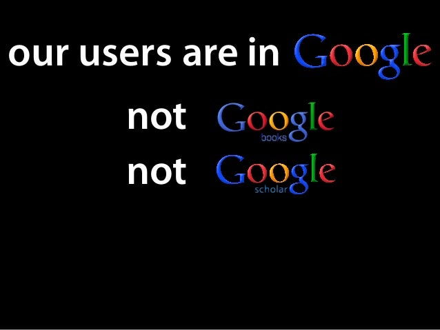 are in not not our users