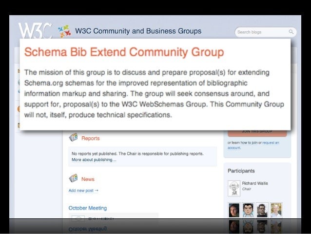 Why schema.org for Libraries