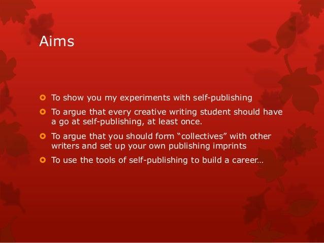 Why self publish? Slide 2