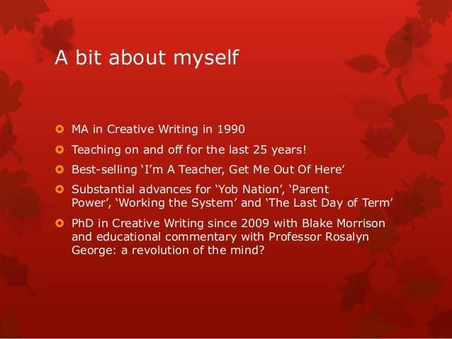 Why self publish? Slide 3