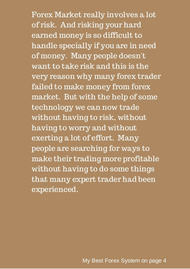 Why learn forex trading