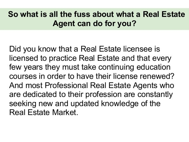 Why should I use a real estate agent to sell my home? Slide 3