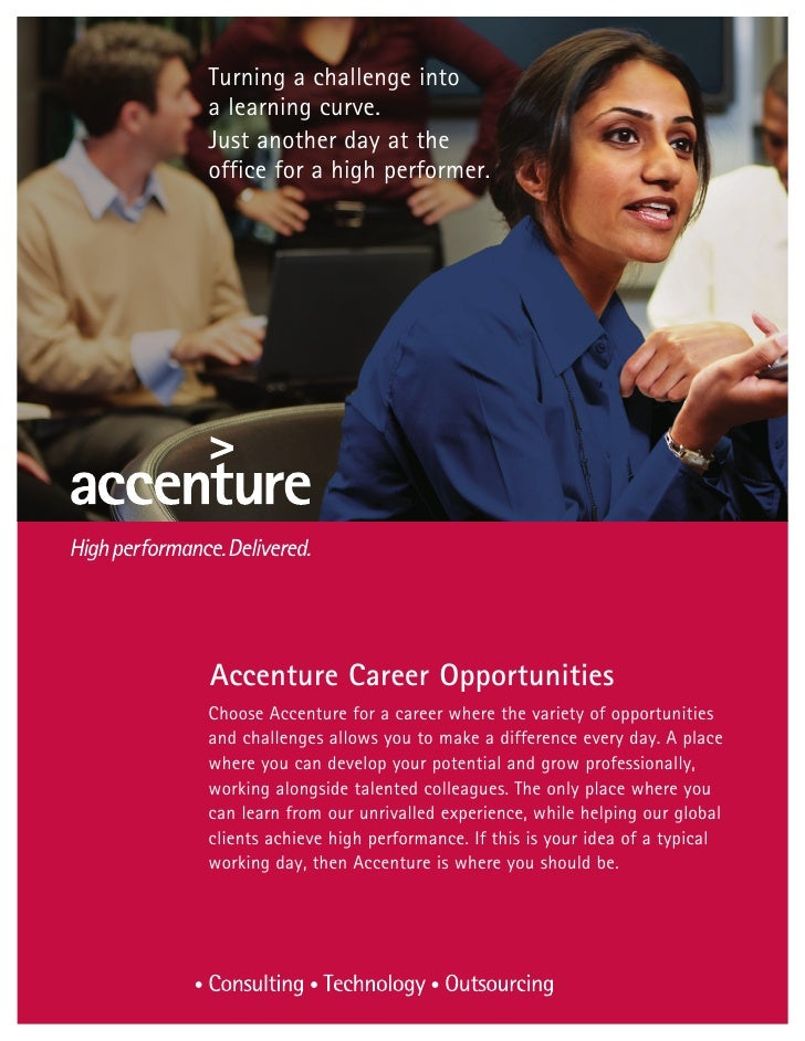 Why should I work at Accenture