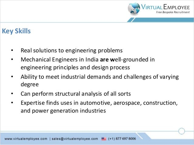 Why Shouldn T You Overlook India While Hiring Mechanical Design Engin