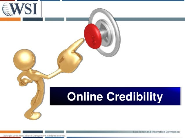 Online Credibility