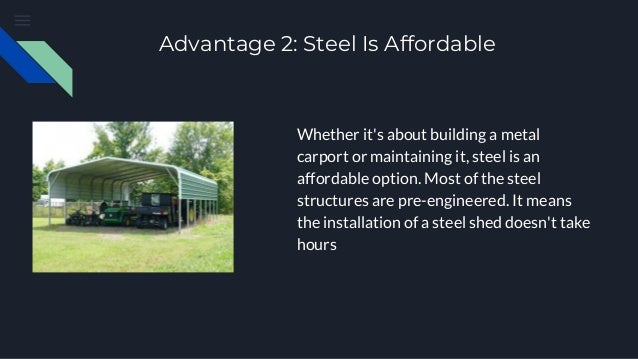 Why should you add a metal carport to your home
