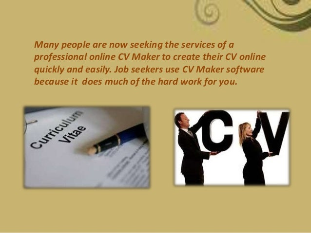 why should you get your resume created through cv builder online