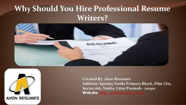 Why Should You Hire Professional Resume Writers