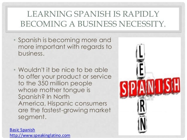 Why is it important to learn Spanish? | Colorado Mesa ...