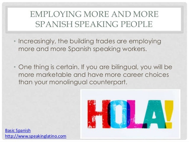 Why learn Spanish? And Reasons to learn Spanish - YouTube
