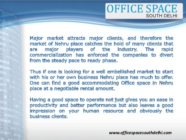 Excellent Why Should You Look For An Office Space In Nehru Place Largest Home Design Picture Inspirations Pitcheantrous
