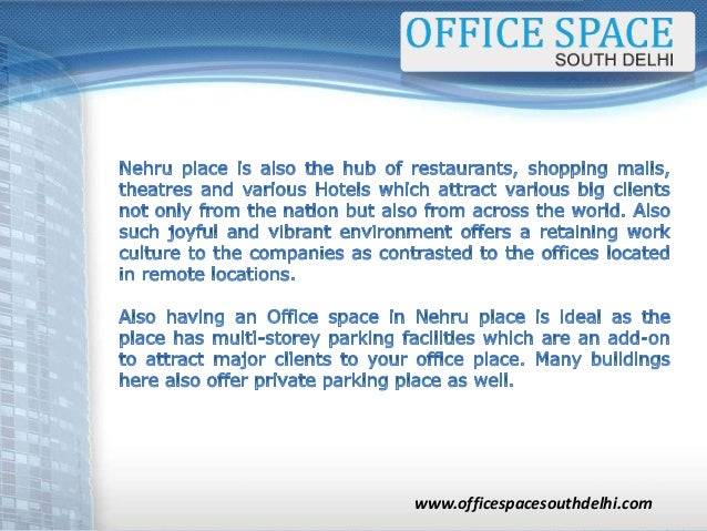 Marvelous Why Should You Look For An Office Space In Nehru Place Largest Home Design Picture Inspirations Pitcheantrous