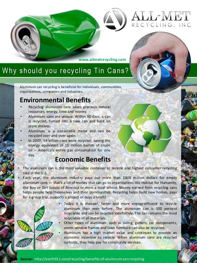 Why should you recycling tin cans for Can you recycle cookie tins