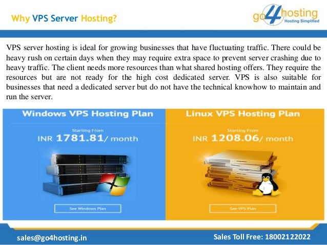 Why Small Business Should Choose VPS Server Hosting