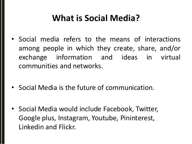 how and why is a social It's by no means an exhaustive list of reasons why you should have a social media strategy it's more a steer in the right direction and food for thought please join in the discussion with comments and your own experience.
