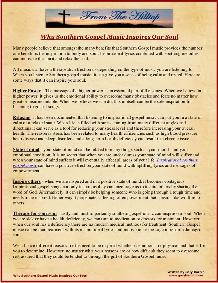 Lyric southern gospel music lyrics : why-southern-gospel-music-inspires-our-soul-1-728.jpg?cb=1308763424