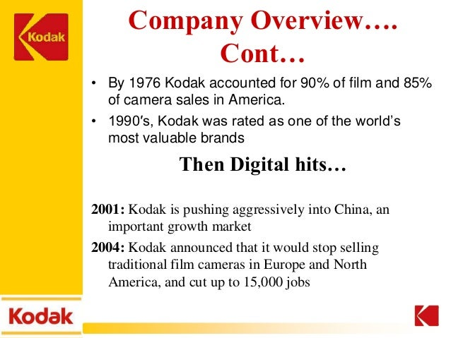 kodak strategy failure Business leaders employ multiple strategies like buying out the competition and innovating products  consider the case of eastman kodak in the rise of digital photography  failure is a.